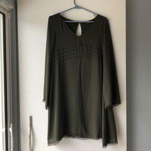 Olive Green Nordstrom Dress
